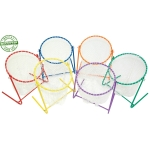 Disc Golf Ground Target Rainbow Set Of 6