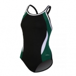 Dolfin All Poly Female DBX Back Color Block Swim Suit
