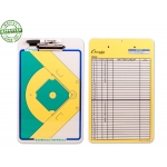 Double Sided Baseball Softball Dry Erase Coaching Board