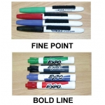 Dry Erase Coaching Board Pens (Pack Of 4)