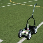 "Field Liner 500 Large 10"" Turf Wheels With Folding Handle"