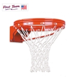 First Team FT172D UNBREAKABLE Double Rim Outdoor Basketball Rim - UNCONDITIONAL LIFETIME WARRANTY