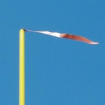 "Football Goal Post Wind Directional Banners 4"" x 42"" (Set of 4)"
