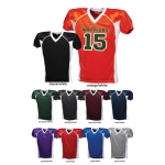 Full Length 2 Color Adult Game Football Jersey