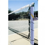 Galvanized Steel Tennis Posts (Pair)