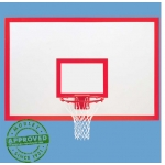 Gared 1272B Steel Basketball Backboard