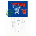 Gared 2000+ Collegiate Basketball Rim