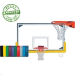 Gared Indoor Collegiate Gymnasium Backboard Package
