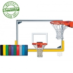 Gared Indoor Scholastic Gymnasium Backboard Package