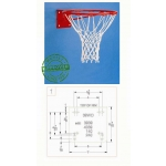 Gared Institutional Basketball Rim