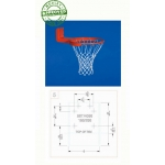 Gared Reverse Mount Basketball Rim