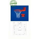 Gared Scholastic Basketball Rim