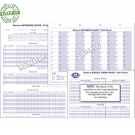 Glovers Football Score Sheets (Each)