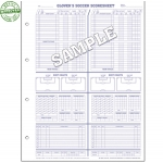 Glovers Soccer Score Sheets (Each)