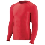 Augusta Hyperform Compression Long Sleeve Shirt - Youth