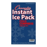 "Instant Ice Packs - Senior Size 4"" x 9"" -Case of 16"