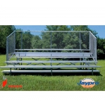 Jaypro 5 Row Bleachers