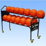 Jaypro Deluxe 19 Basketball Training Ball Cart