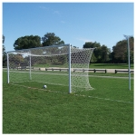 Jaypro Nova World Semi-Permanent Official Soccer Goals (Pair)