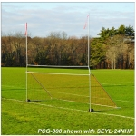 Jaypro Portable Practice Football/Soccer Combo Goal