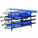 Jaypro Vertical Volleyball Equipment Carrier