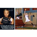 Promounds Jennie Finch Full Length Mat With Powerline
