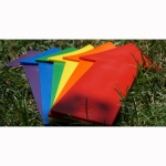 JUMBO STRAIGHT ARROW SET OF 6 RAINBOW COLORS