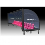 Kiwk Goal Elite Custom Portable Shelters With  Molded Seats