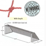 Kwik Goal 0050A 3Mm Twisted Polyethylene Soccer Net Each
