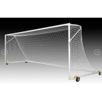 Kwik Goal 2B2001SW Pro Premier European Match Soccer Goal with Swivel Wheels