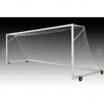 Kwik Goal 2B3006SW Deluxe European Club Soccer Goal with Swivel Wheels