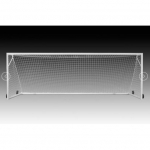 Kwik Goal 2B3006W Deluxe European Club Soccer Goal with Wheels