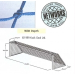 Kwik Goal 3B11 4Mm Hollow Braid Soccer Nets Each
