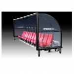 Kwik Goal Elite Custom Portable Shelters With Luxury Seats