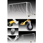 Kwik Goal Evolution Evo 1.1 Soccer Goal With Swivel Wheels