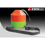 Kwikgoal Mini Disc Cone Set Pack Of 50 - 25 Per Color (2)