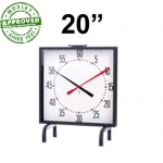 "MARIC 20"" BATTERY PACE CLOCK"