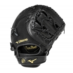 "Mizuno GXF102 12.5"" Prospect Base Mitt Color Black"