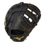 "Mizuno GXF50PB2 12.5"" MVP Base Mitt Color Black"