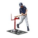 MuhlTech Baseball Softball Pitch Location Mat With Advanced Skills Batting Tee