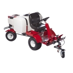 NewStripe NewRider 5000 HPA High Pressure Riding Striping Machine