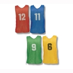 Numbered Soccer Pinnies