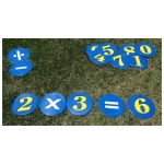 Poly Numbers With Math Signs