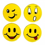 Poly Smiley Faces ( Set of 12 )