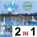 POOL SPORT VOLLEYBALL AND BASKETBALL COMBO