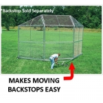 Portable Backstop Transporter