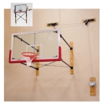 Porter Fold Up Wall Mount Basketball System