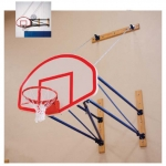 Porter Side Fold Wall Mount Basketball System