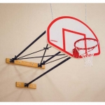 Porter Stationary Wall Mount Basketball System