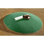 "Portolite IOP-6672 6"" Game Pitching Mound (Green or Clay)"